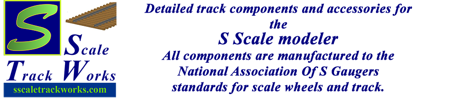 S Scale Track Works